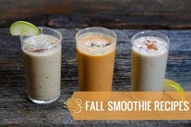 3 Healthy Fall Smoothie Recipes | HelloGlow.co