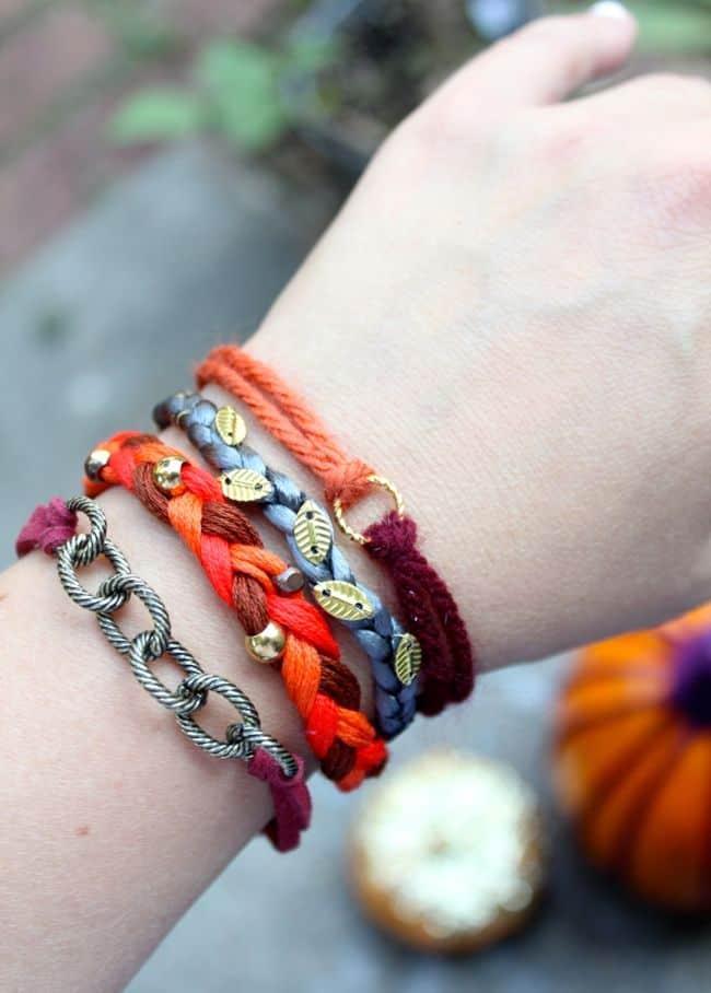 Pumpkin Spice Stack! Make 4 Fall Bracelets | HelloGlow.co