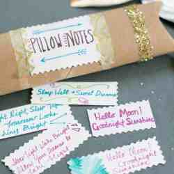 DIY Anti-Stress Pillow Mist + Anthro-Inspired Pillow Notes