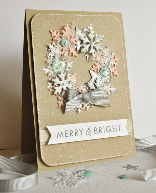 20 Handmade Holiday Cards Hello Glow
