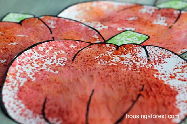 kids fall crafts koolaid pumpkin