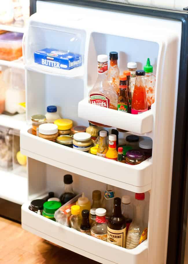 thanksgiving kitchen - fridge-2