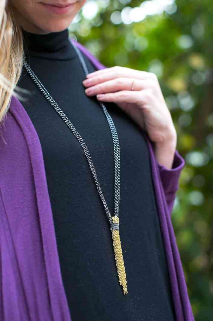 Chain Tassel Necklace