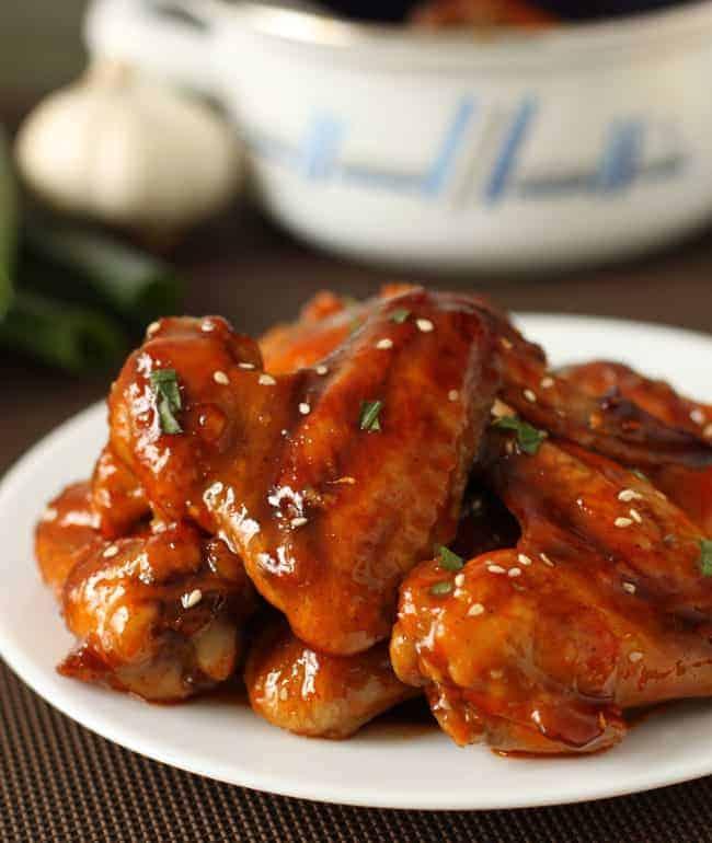 Baked Sriracha Chicken Wings Recipe | Hello Glow