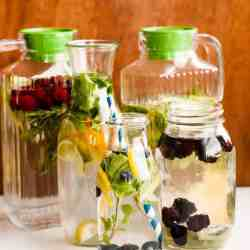 How to Make Infused Water + 10 Tasty Flavor Combinations