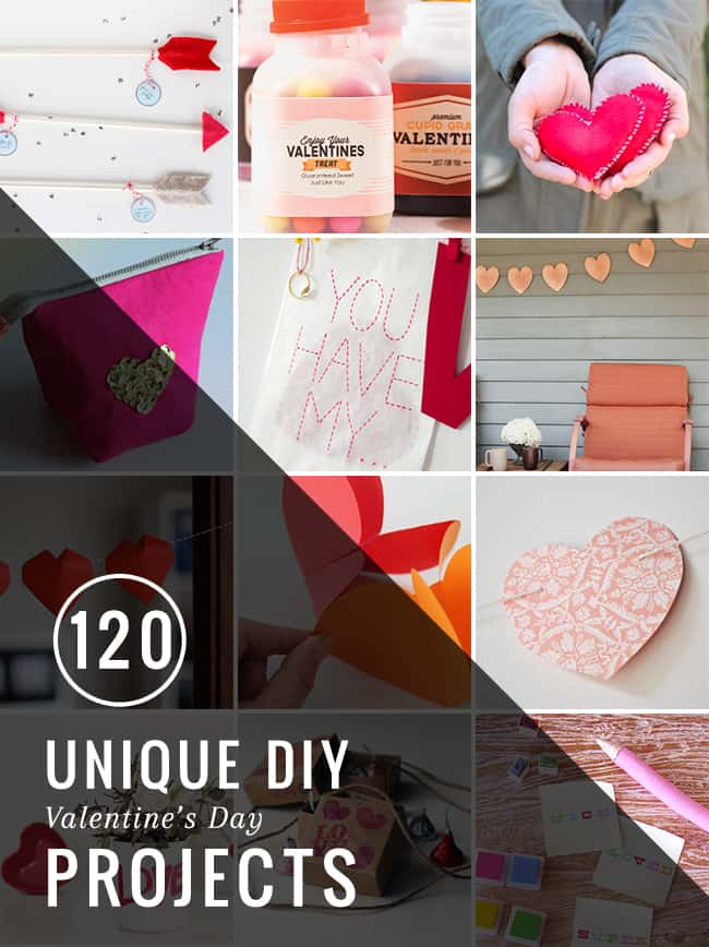 120 Unique DIY Valentine's Day Projects | Hello Glow