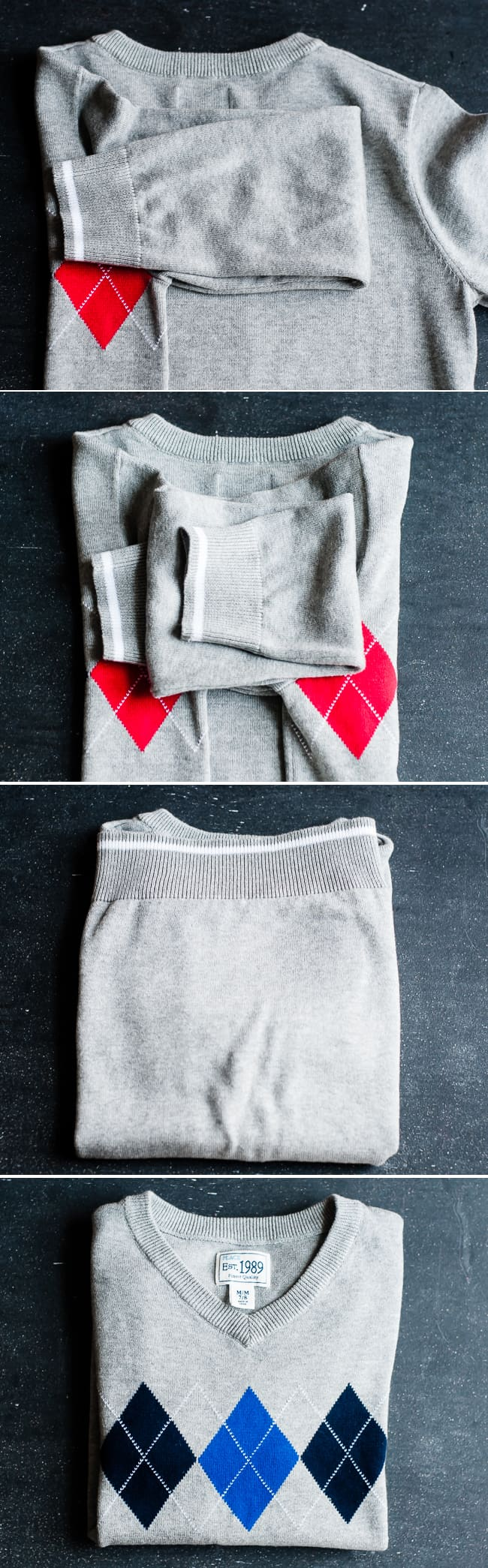 How to fold a sweater | Hello Glow