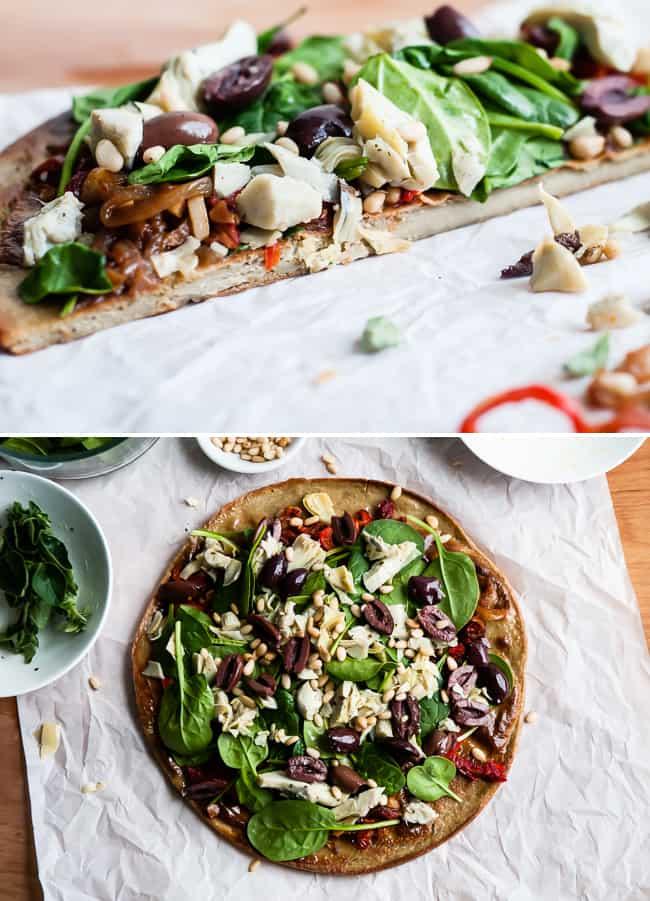 Quinoa Pizza Crust   HelloGlow.co