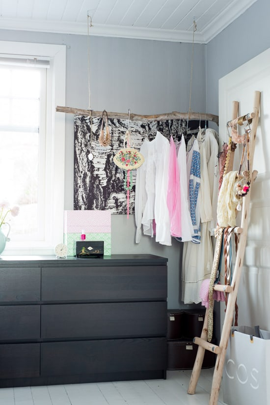 Branch closet