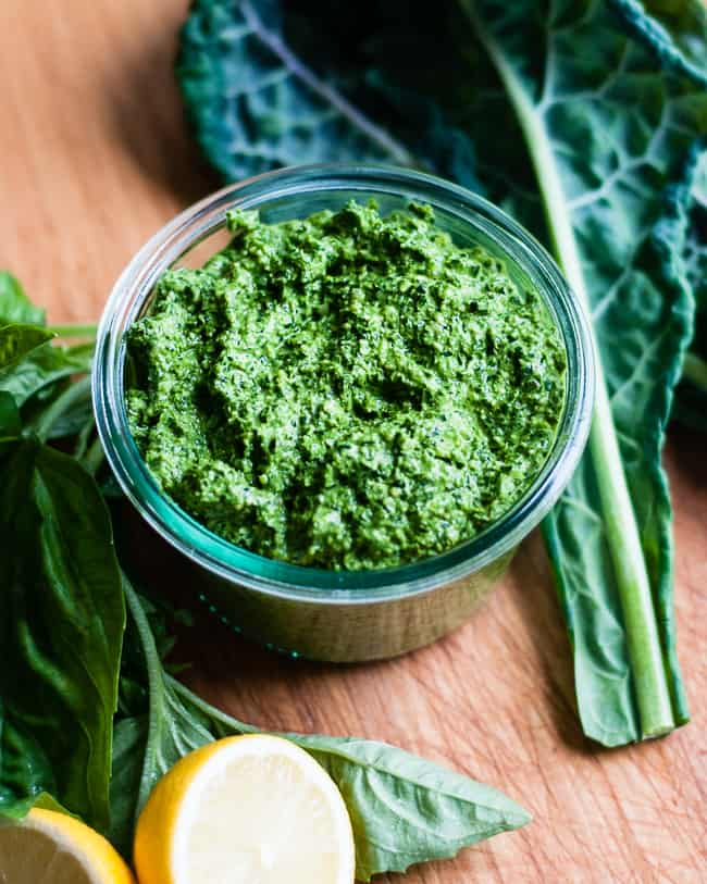 How to make kale pesto | Hello Glow