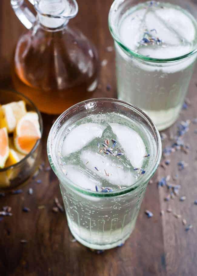 Refreshing Homemade Lavender Soda | Hello Glow