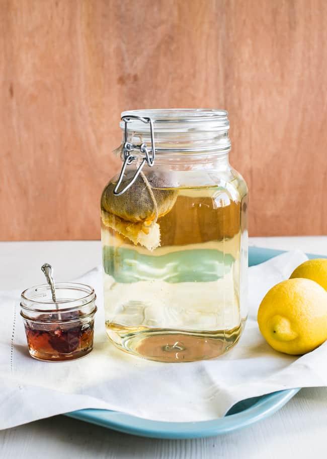 How To Make Rooibos Herbal Sun Tea | Hello Glow