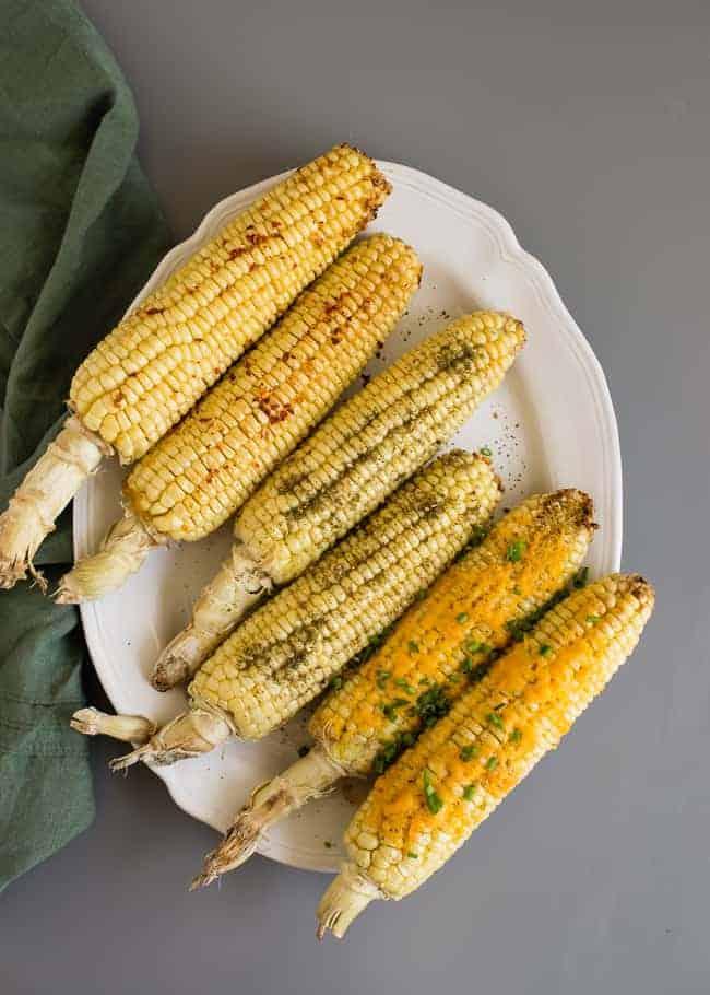 Roasted Corn 3 Ways | Hello Glow