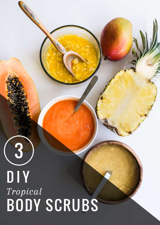 3 Tropical Body Scrubs | HelloGlow.co