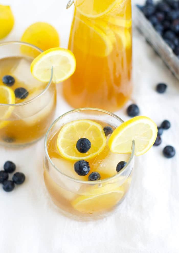 Kombucha lemonade