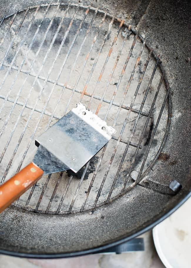 Clean Your Grill the Natural Way