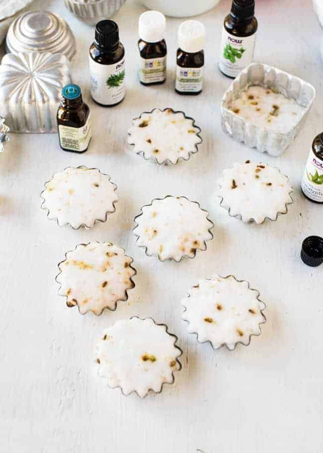 DIY Aromatherapy Shower Tablets | HelloGlow.co
