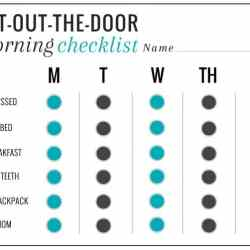 5 Back-to-School Tips + Get-Out-The-Door Morning Checklist (Free Download)