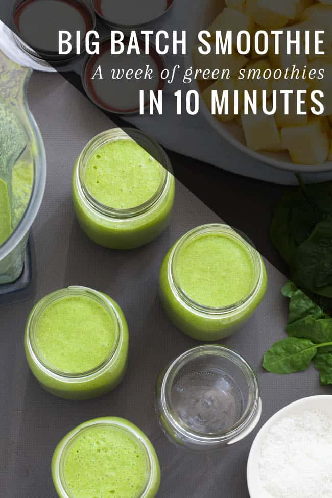Big Batch Green Smoothie System | HelloGlow.co