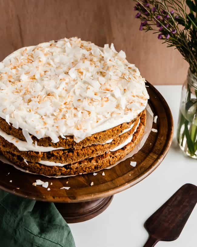 Light Carrot Cake Recipe | HelloGlow.co