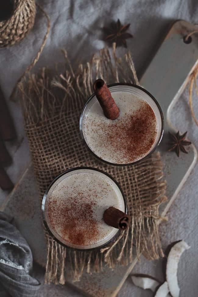 Coconut Nog Recipe   HelloGlow.co