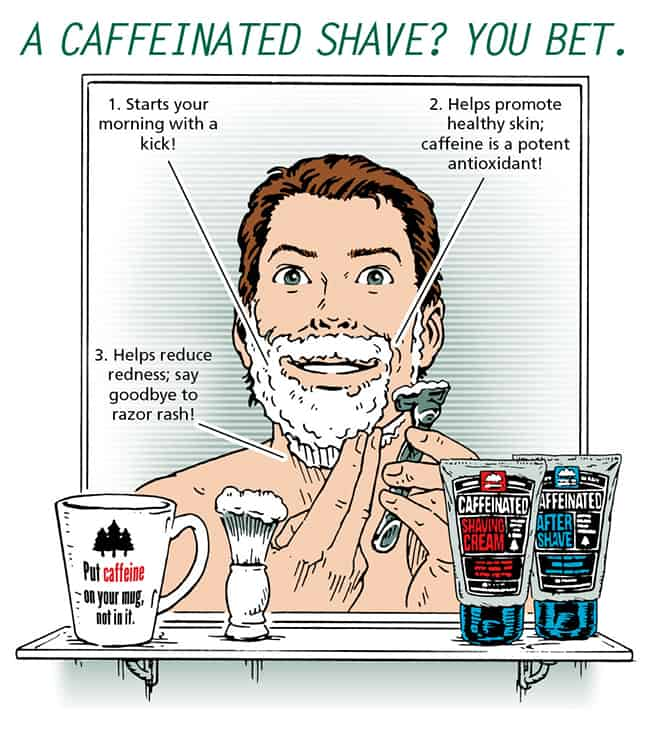 Pacific Shaving Caffeinated Shaving Cream and Aftershave Giveaway | HelloGlow