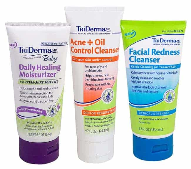 TriDerma Skin Products Giveaway | HelloGlow.co