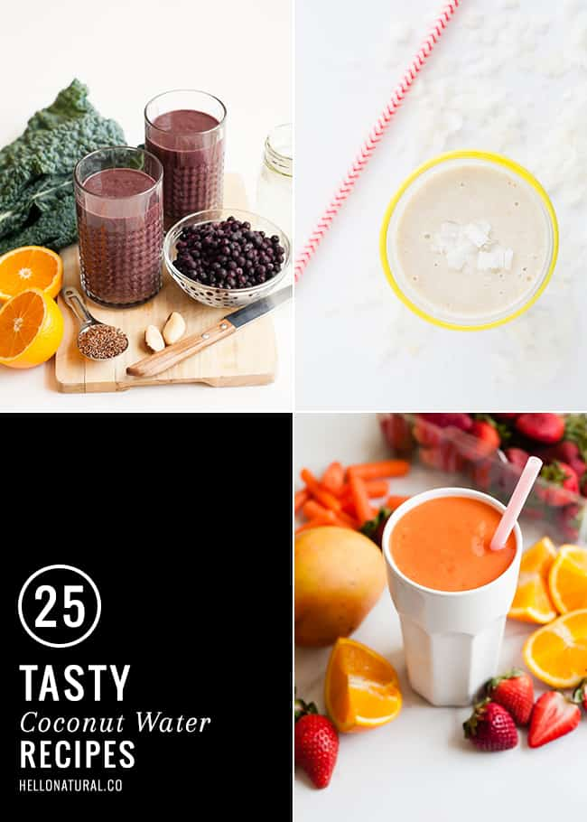 25 Tasty Coconut Water Recipes
