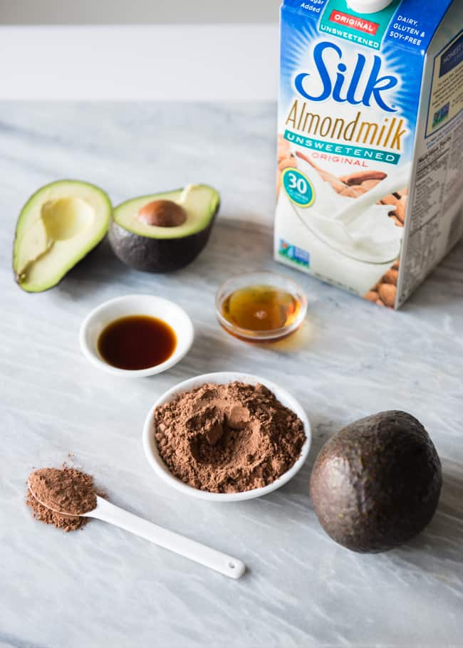 Dark Chocolate Avocado Pudding