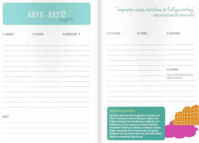 Dani DiPirro Positivity Calendar Giveaway   HelloGlow.co