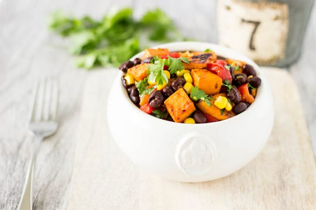 Chipotle Sweet Potato Salad | 101 Healthy Lunches