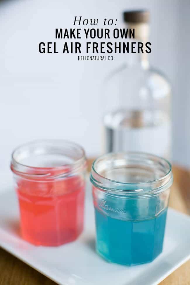 How to Make Gel Air Fresheners