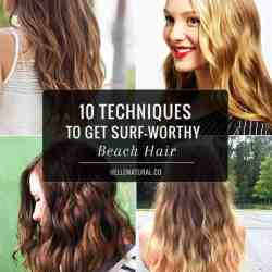 10 Techniques to Get Surf-Worthy Beach Hair