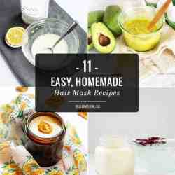 11 Easy, Homemade Hair Mask Recipes