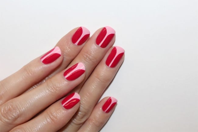 Tulip Nails | 13 Ways to Wear Pink Nails