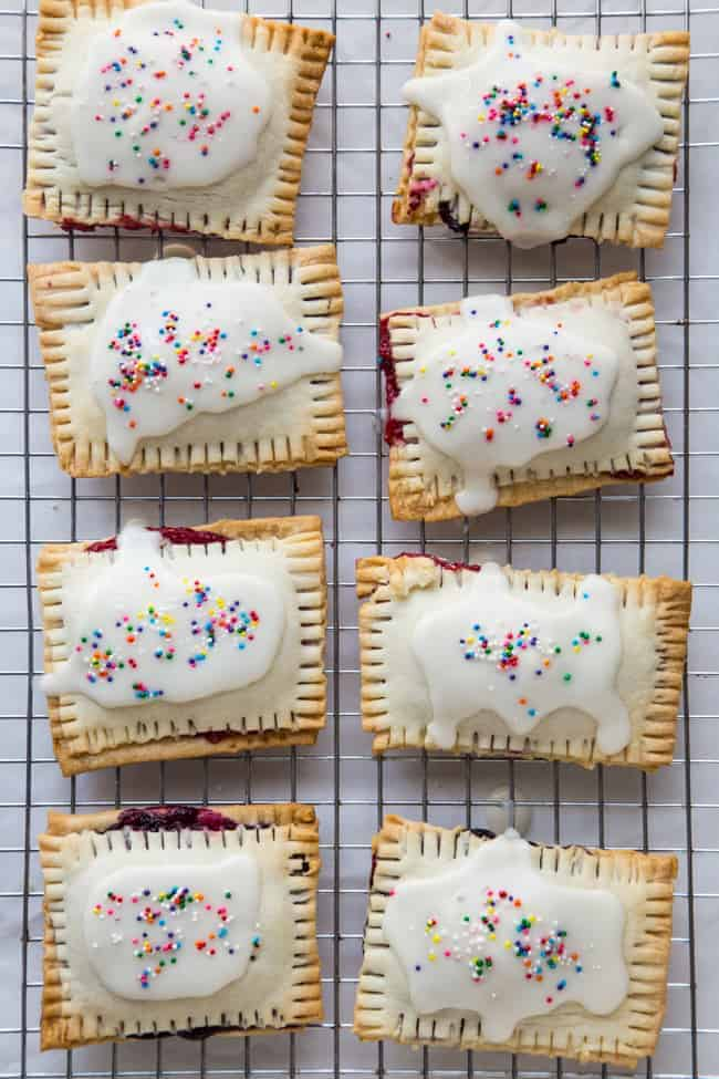 Homemade Berry Pop Tarts