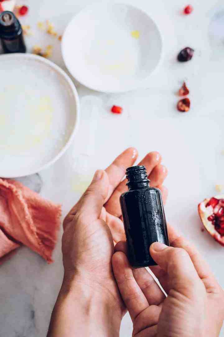 DIY Rosehip Face Oil