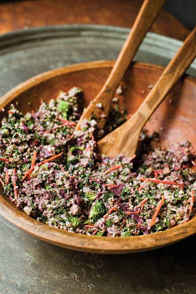 Detox Ranch Salad | Hello Glow