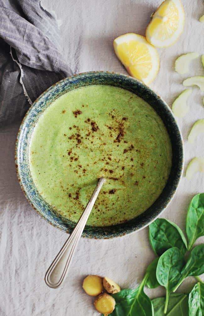Raw Spinach Soup | 3 Detox Soup Recipes