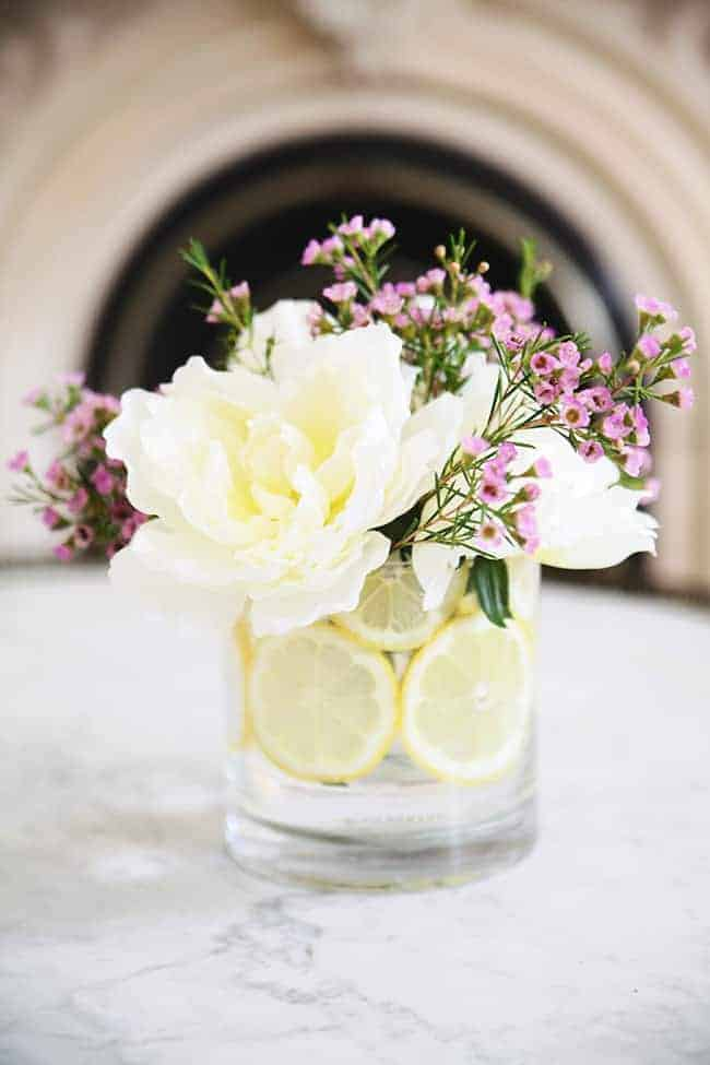 How To: Make a Citrus Flower Arrangement