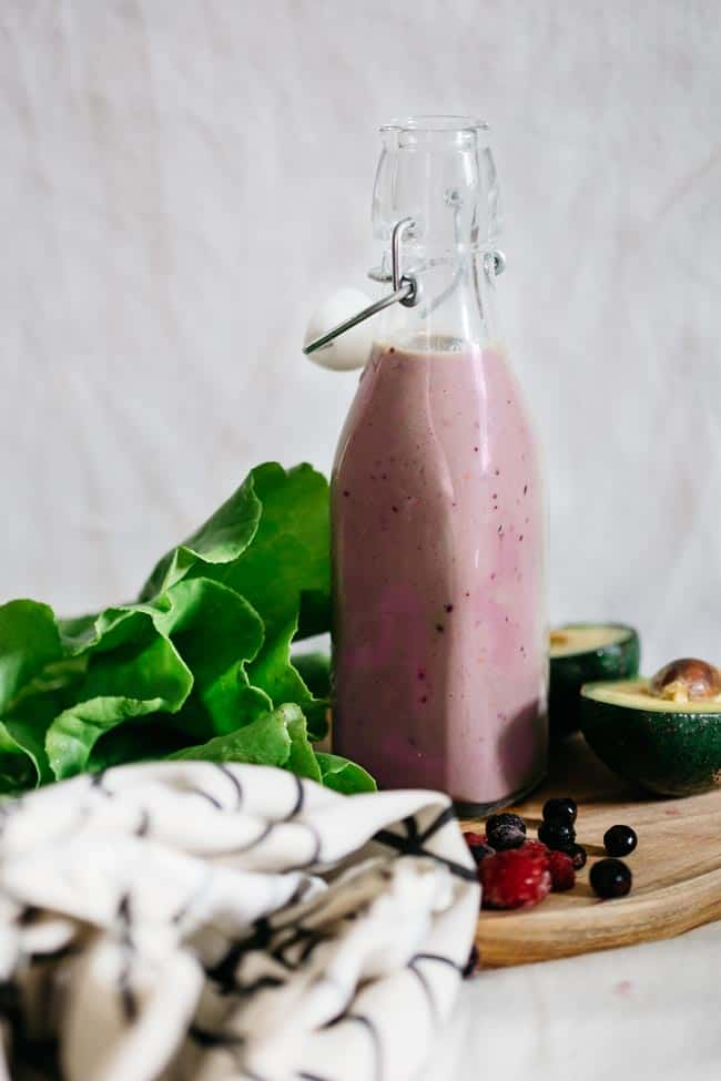 Berry Beauty Smoothie | 4 Healthy Gut Smoothie Recipes