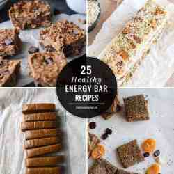 Snack On With 25 Healthy Energy Bar Recipes