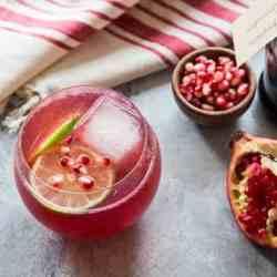 How To Make Homemade Grenadine + Pomegranate Vodka Fizz Recipe