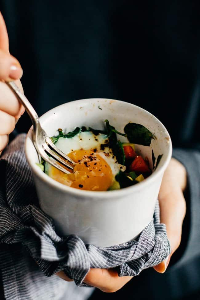 BLT Breakfast Egg Cups Recipe
