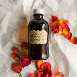 Make Your Own Massage Oil with 6 Essential Oil Blends + Uses
