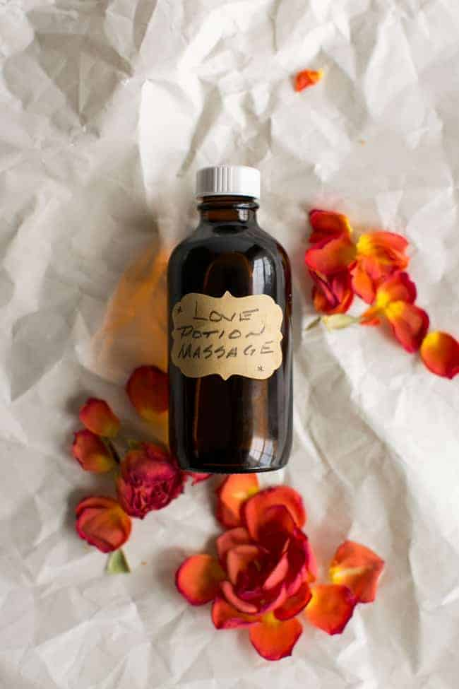 DIY Massage Oil with 6 Essential Oil Blends