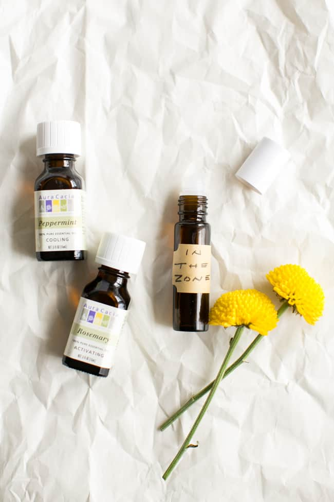 In The Zone Head Massage + 5 More Essential Oil Massage Blends