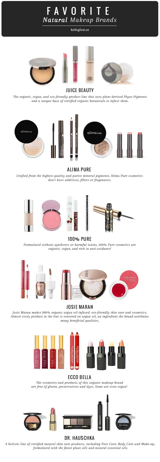 9 Favorite Natural Makeup Brands