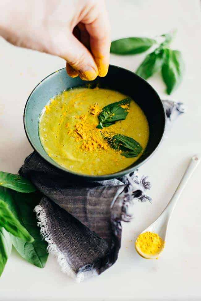Glowing Greens Soup | 5 Soup Cleanse Recipes