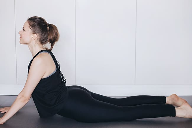 5 Yoga for PMS Moves